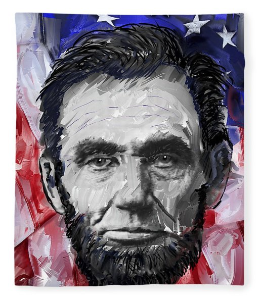 Abraham Lincoln - 16th U S President Fleece Blanket