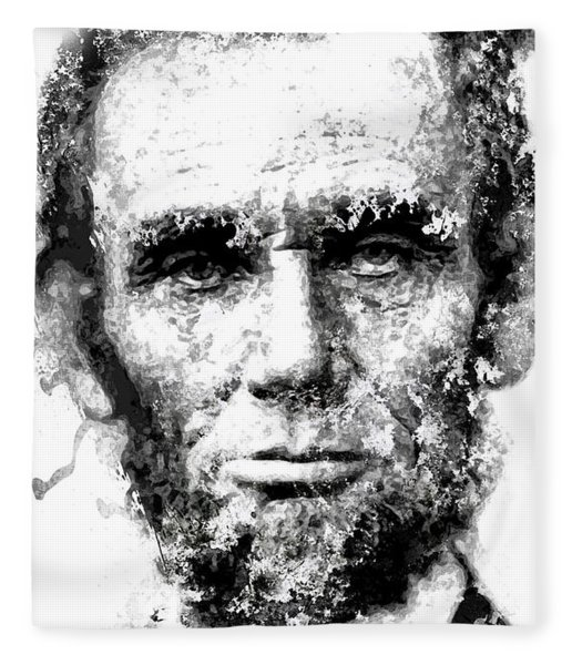 Abraham Lincoln For Eternity Fleece Blanket