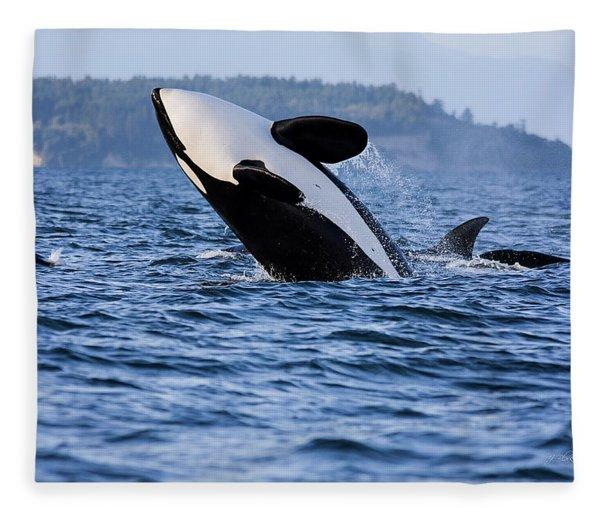 Absolutely Free - Whale Art Fleece Blanket