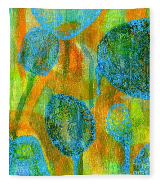 Abstract Painting No. 1 Fleece Blanket