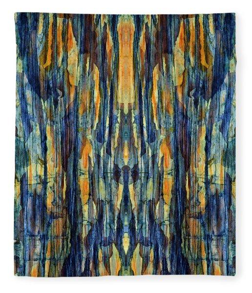 Abstract Symmetry I Fleece Blanket