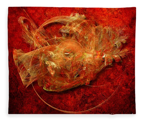 Abstractfantasy No. 1 Fleece Blanket