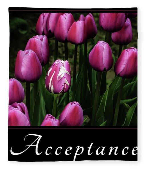 Acceptance Fleece Blanket
