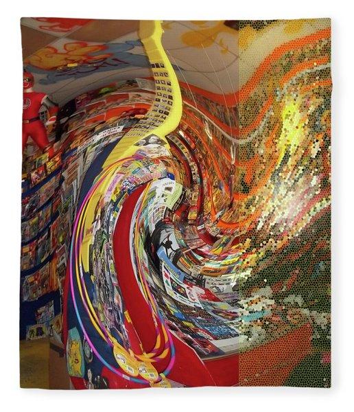 Afternoon Hallucination Fleece Blanket