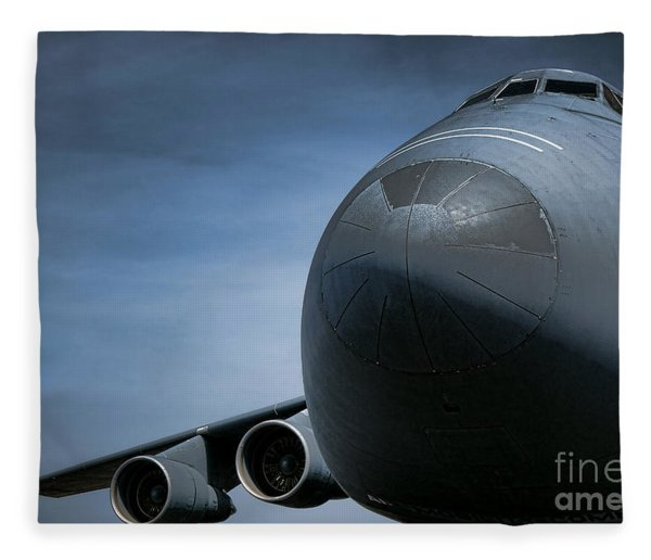 Air Mobility Command Fleece Blanket