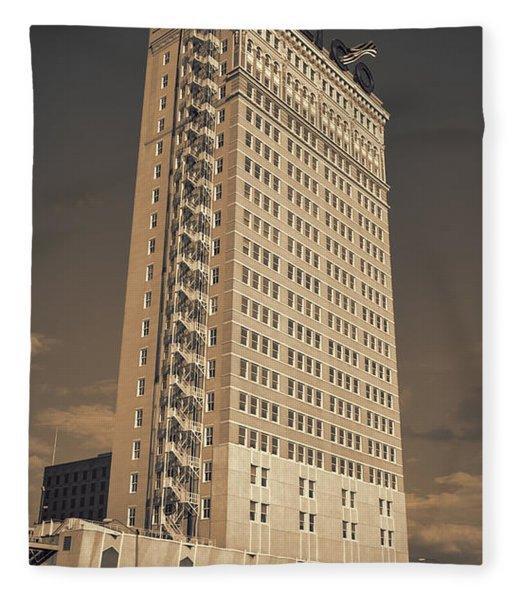 Alico Building #2 Fleece Blanket