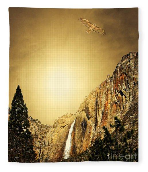 Almost Heaven Fleece Blanket