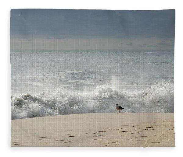 Alone - Jersey Shore Fleece Blanket