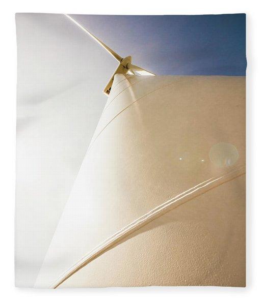 Alternative Energy Fleece Blanket