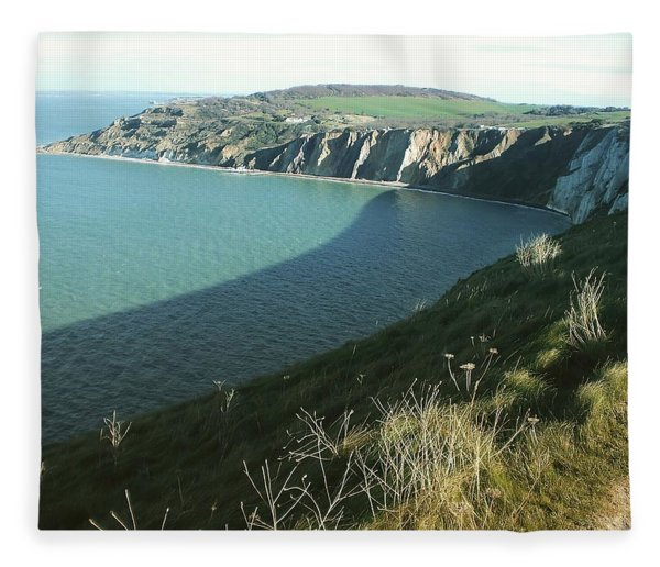 Alum Bay, Isle Of Wight Fleece Blanket
