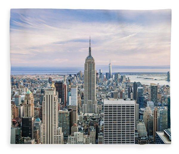 Amazing Manhattan Fleece Blanket