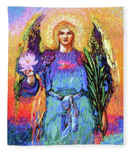 Angel Love Fleece Blanket