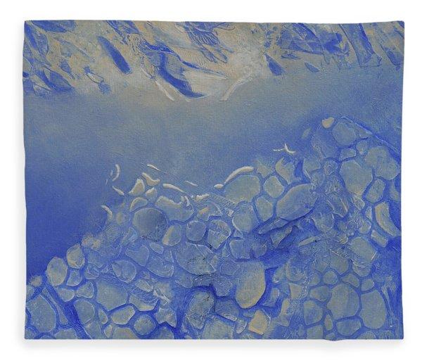 Arctic Light Fleece Blanket