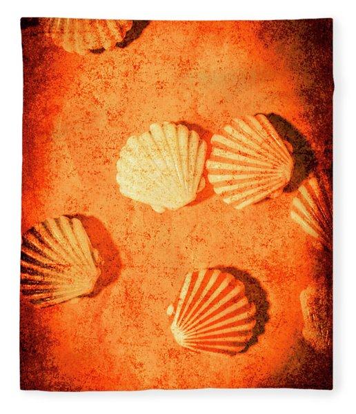 Art Of Lost Oceans Fleece Blanket