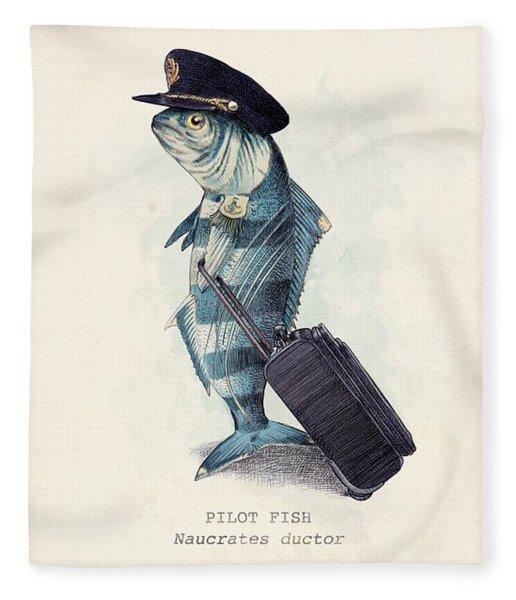 The Pilot Fleece Blanket