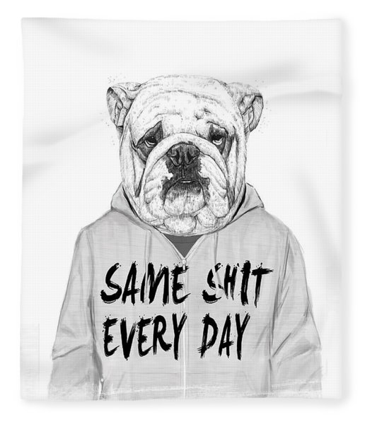 Same Shit... Fleece Blanket