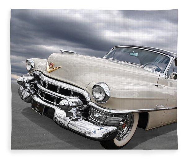 Cream Of The Crop - '53 Cadillac Fleece Blanket