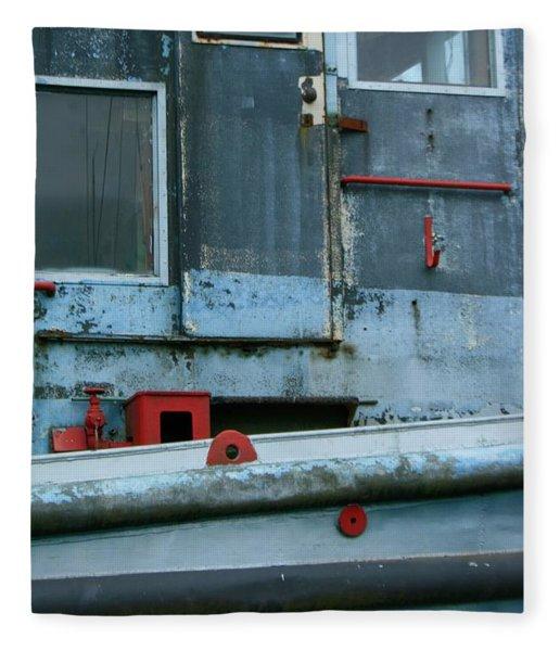 Astoria Ship Fleece Blanket