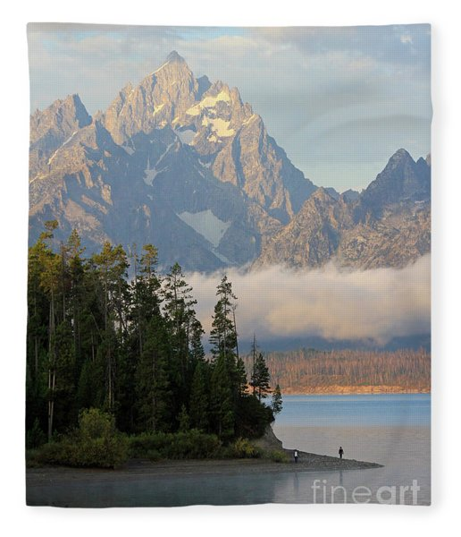 At Peace Fleece Blanket