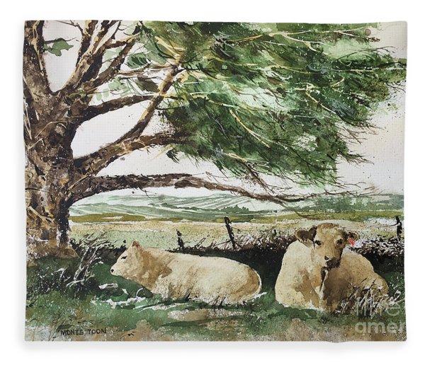 August Fleece Blanket