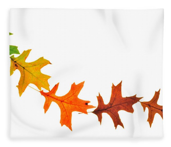 Autumn Leaves 1 Fleece Blanket