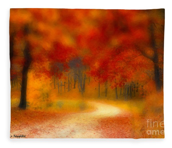 Autumn's Promise Fleece Blanket