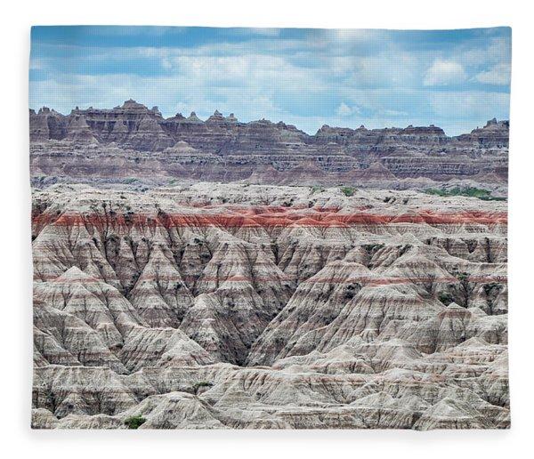 Badlands National Park Vista Fleece Blanket
