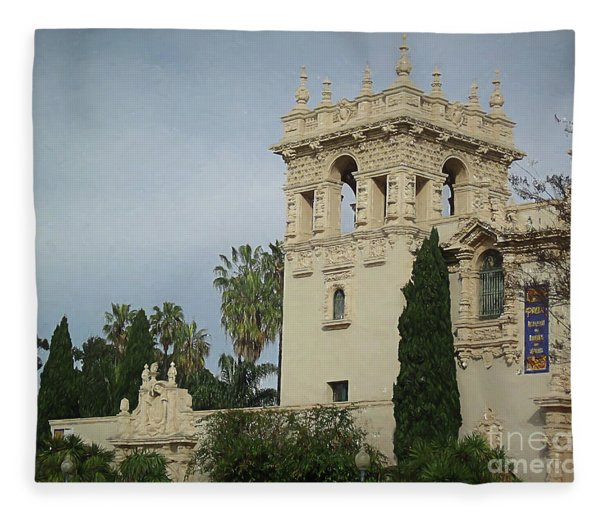 Balboa Park 2 Fleece Blanket