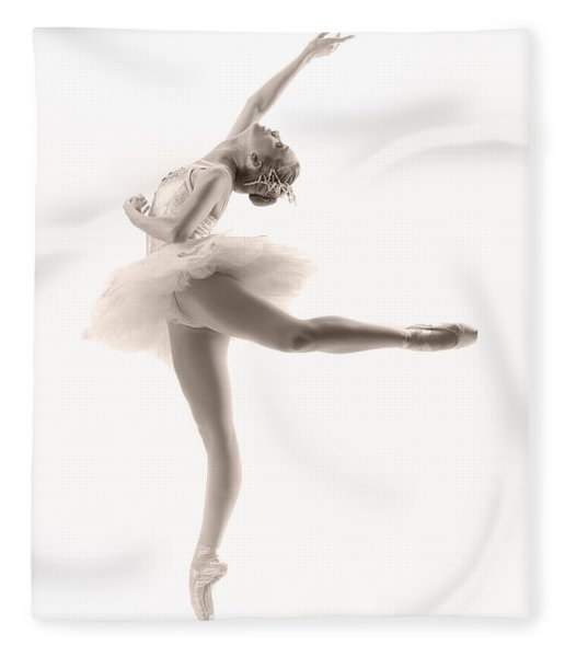 Ballerina Fleece Blanket