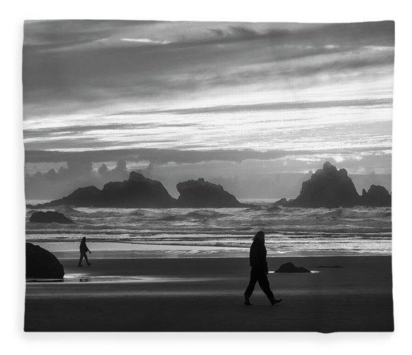 Bandon Beachcombers Fleece Blanket