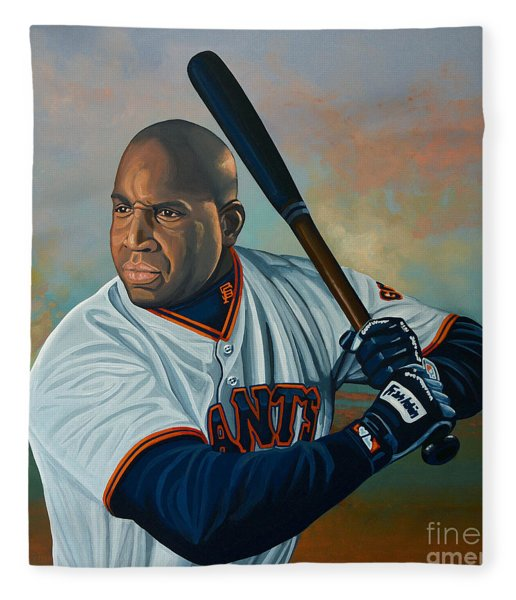 Barry Bonds Fleece Blanket