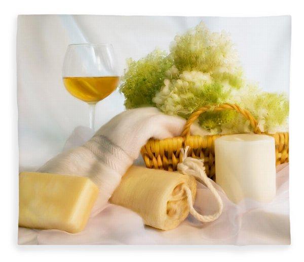 Bath Persuasion Fleece Blanket
