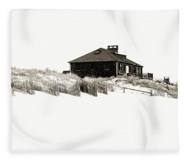 Beach House - Jersey Shore Fleece Blanket