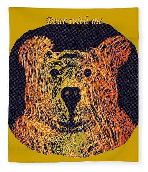 Bear With Me Fleece Blanket