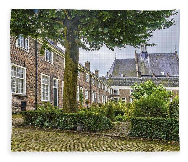 Begijnhof In Breda Fleece Blanket