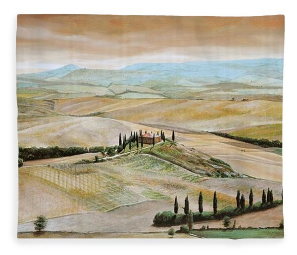 Belvedere - Tuscany Fleece Blanket