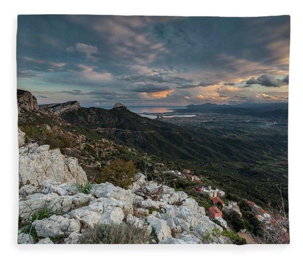Belvedere Of Baunei Fleece Blanket