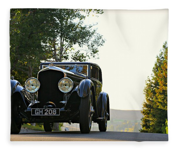 Bentley Speed 6 Corsica Fleece Blanket