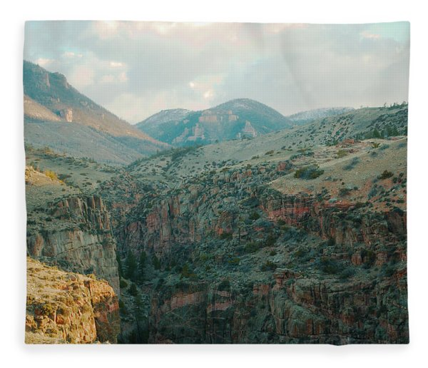Bighorn National Forest Fleece Blanket