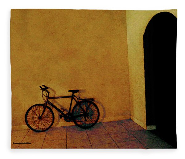 Bike Art Fleece Blanket