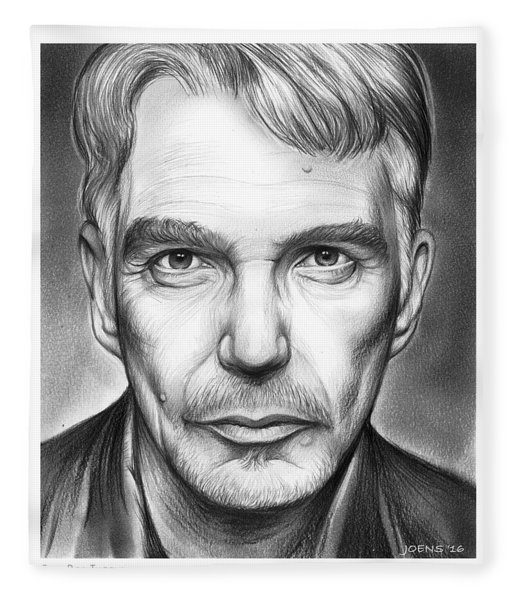 Billy Bob Thornton Fleece Blanket