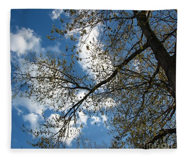 Blue Skies Fleece Blanket