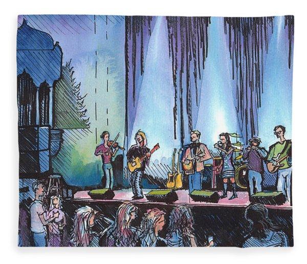 Bob Dylan Tribute Show Fleece Blanket
