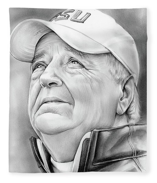 Bobby Bowden Fleece Blanket