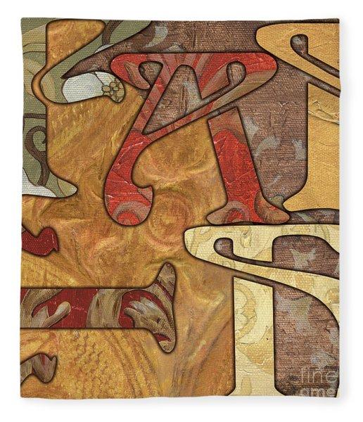 Bohemian Faith Fleece Blanket