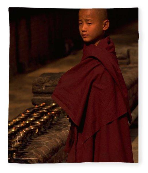 Photograph - Boy Buddhist In Bodh Gaya by Travel Pics