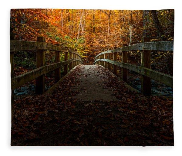 Bridge To Enlightenment Fleece Blanket