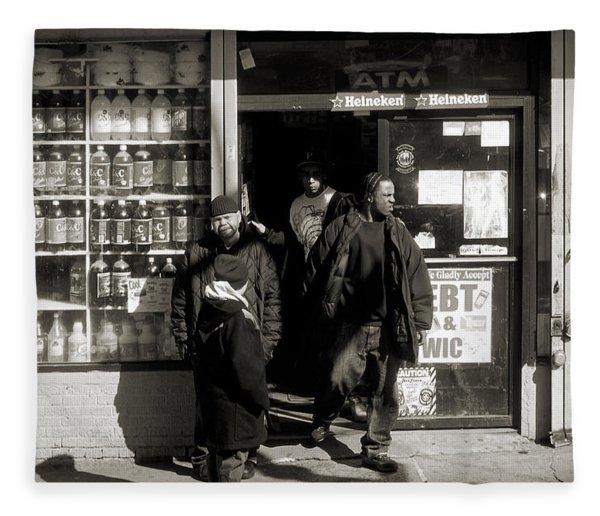 Bronx Scene Fleece Blanket