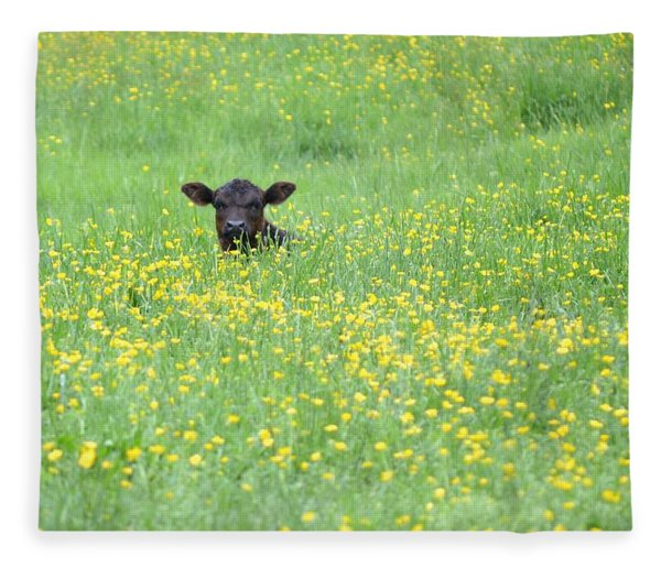 Buttercup Fleece Blanket