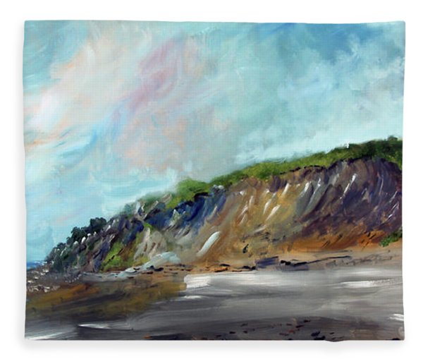 Cahoon Hollow Beach Fleece Blanket